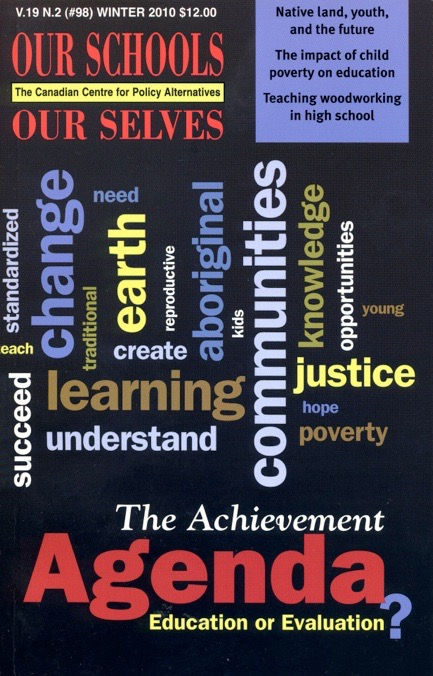 Our Schools Our Selves Cover W2010